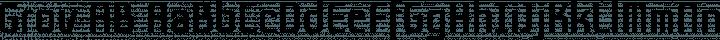 Grov AB Regular free font