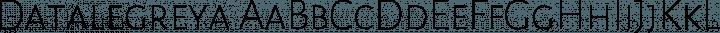 Datalegreya font family by Figs