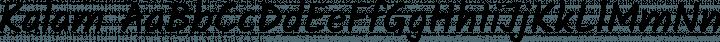 Kalam Regular free font
