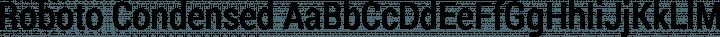 Roboto Condensed free font