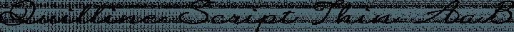 Quilline Script Thin Regular free font