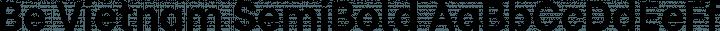 Be Vietnam SemiBold free font