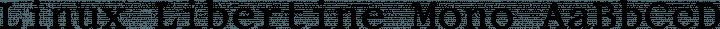 Linux Libertine Mono free font