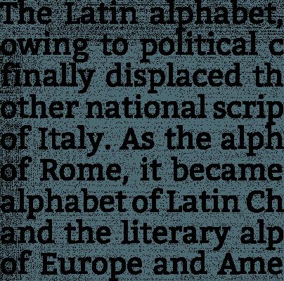 typographie bitter