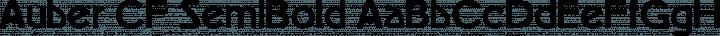 Auber CF SemiBold free font