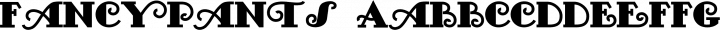 FancyPants font family by Nick's Fonts