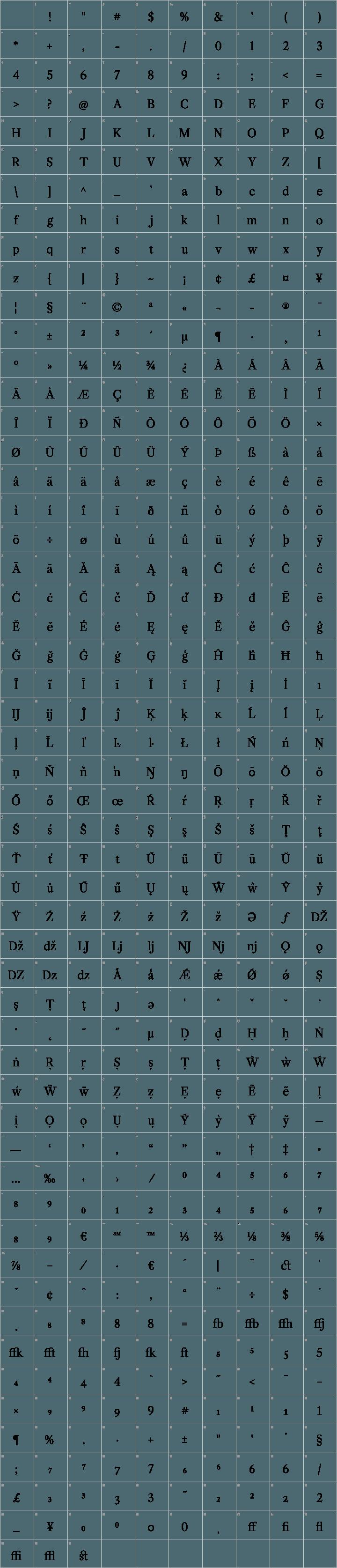 Libre Caslon Font Free by Impallari Type » Font Squirrel
