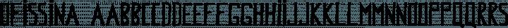 Ofissina Regular free font