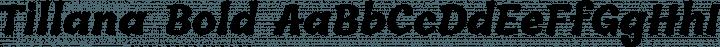 Tillana Bold free font