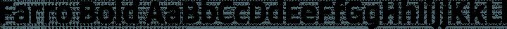 Farro Bold free font