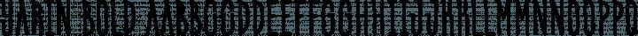 Yarin Bold free font