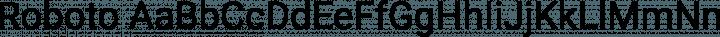 Roboto Regular free font