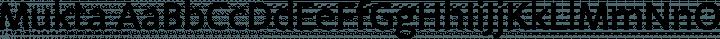 Mukta Regular free font