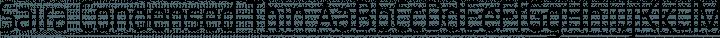 Saira Condensed Thin free font