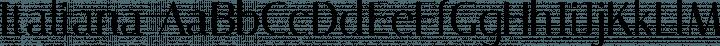 Italiana font family by Typemade