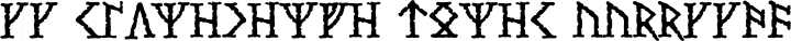 CC Stonehenge Runes free font