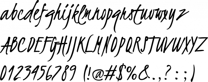Kristi | 10 handwriting fonts | 41studio ruby on rails company