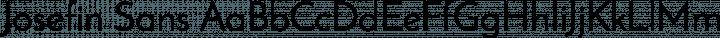 Josefin Sans Regular free font