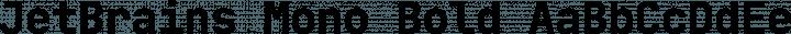 JetBrains Mono Bold free font