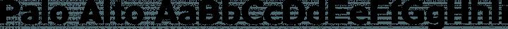 Palo Alto font family by TypeFaith