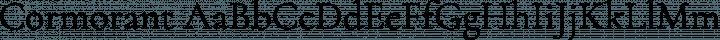Cormorant Regular free font