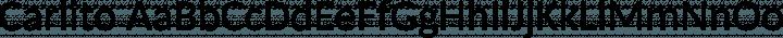 Carlito Regular free font