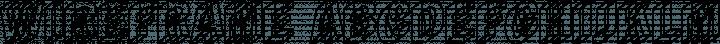 Wireframe Regular free font
