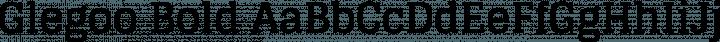 Glegoo Bold free font