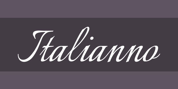 Italianno Font Free by TypeSETit » Font Squirrel