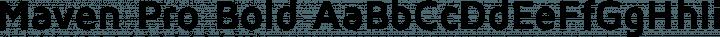 Maven Pro Bold free font