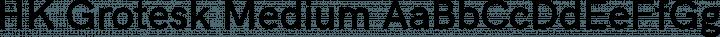 HK Grotesk Medium free font
