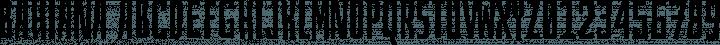 Bahiana Regular free font