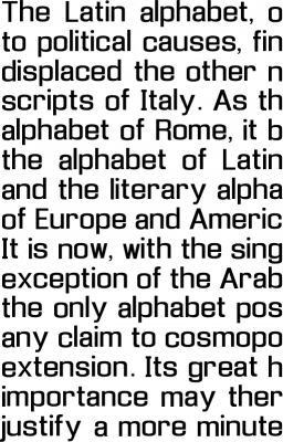 Enigmatic Font Free by Objets Dart » Font Squirrel