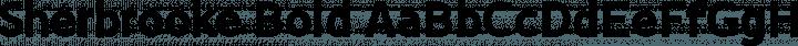Sherbrooke Bold free font