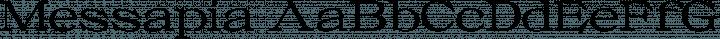 Messapia Regular free font