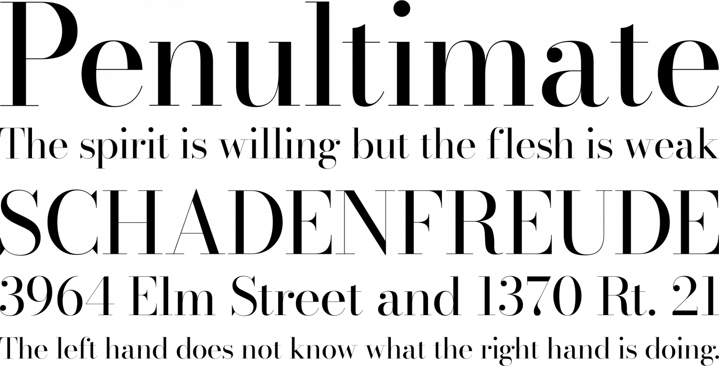 Bodoni* Font Free by indestructible type » Font Squirrel