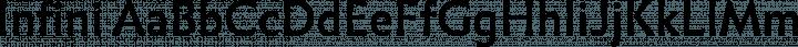 Infini Regular free font