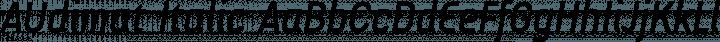 AUdimat Italic free font