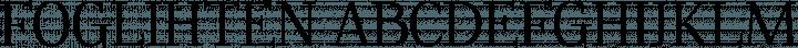 Foglihten font family by GLUK fonts