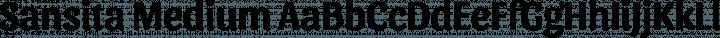 Sansita Medium free font