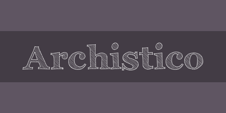 Archistico Font Free by Archistico » Font Squirrel