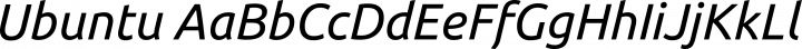 Ubuntu font family by Dalton Maag Ltd