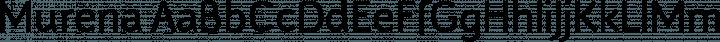 Murena Regular free font