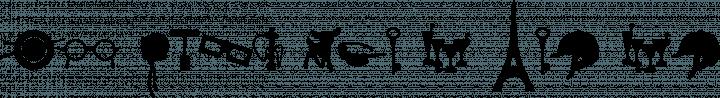 WC Sold Out A Bta Regular free font