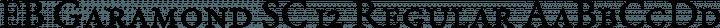 EB Garamond SC 12 Regular free font