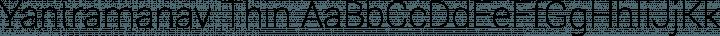 Yantramanav Thin free font