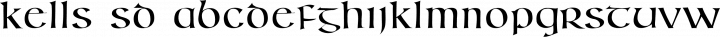 Kells SD Regular free font