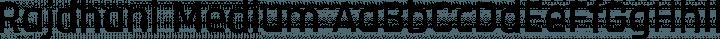 Rajdhani Medium free font