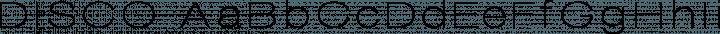 DISCO Regular free font