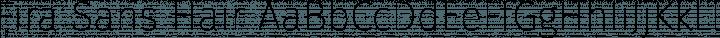 Fira Sans Hair free font